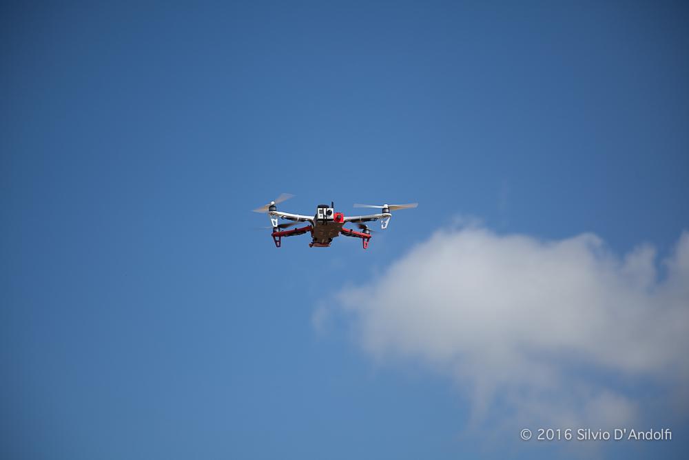 Testvlucht nieuwe drone